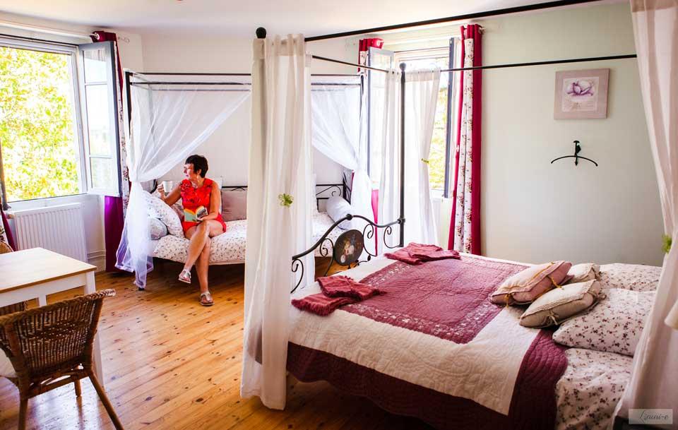 Chambres d'hôtes et gîte