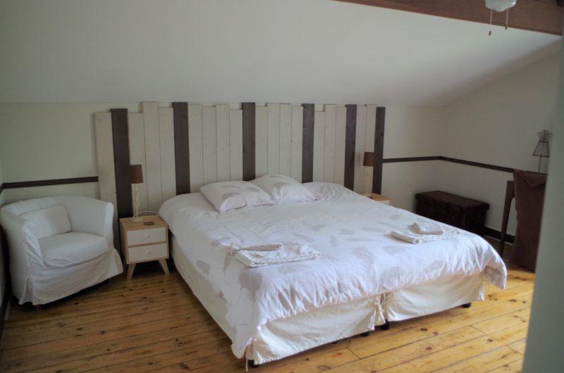 chambre chocolat la vigneronne senouillac lits jumeaux tarn occitanie lit king size